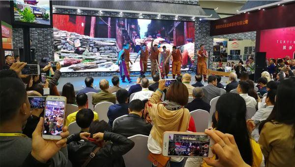 """""""世界黑茶之源""""在深圳茶博会展示中国千年黑茶文化"""