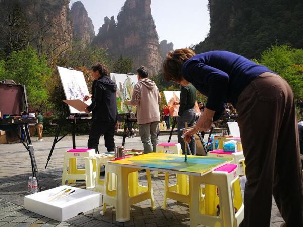 张家界联合国教科文组织世界地质公园风光将在文艺复兴发源地巡展